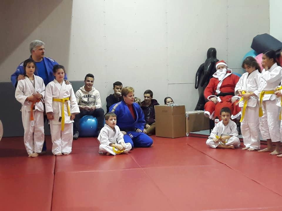 Babbo Natale a Judo San