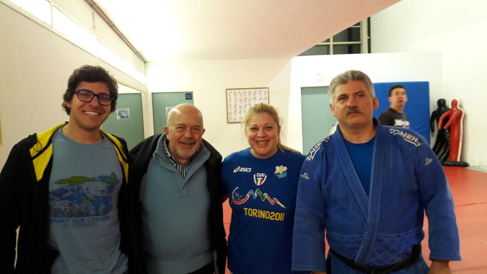 Da Sicilia in Trentino direttamente nel cuore di Judo San Trento