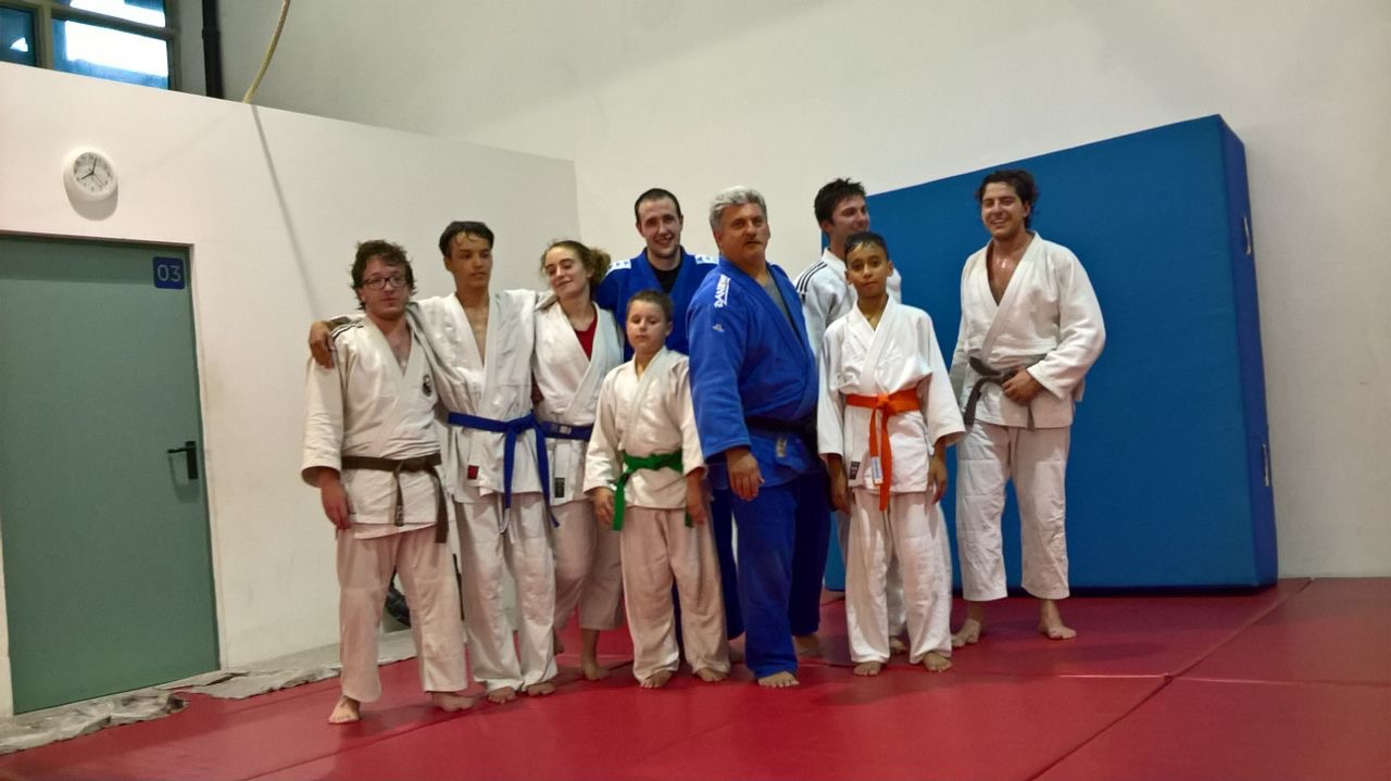 L'esperienza di un judoka brasiliano a Judo San Trento